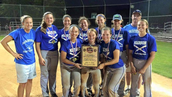 Madison won the high school division of the ASA Catawba Valley Open held Saturday in Morganton.