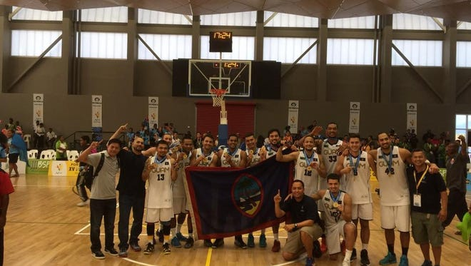 Guam men's basketball team