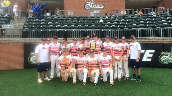 The Southern Athletics 16U baseball team won the Queen City tournament earlier this month in Charlotte.