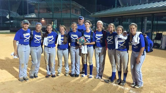 Madison won the ASA Summer Sizzler's 18U division last month in Johnson City, Tenn.