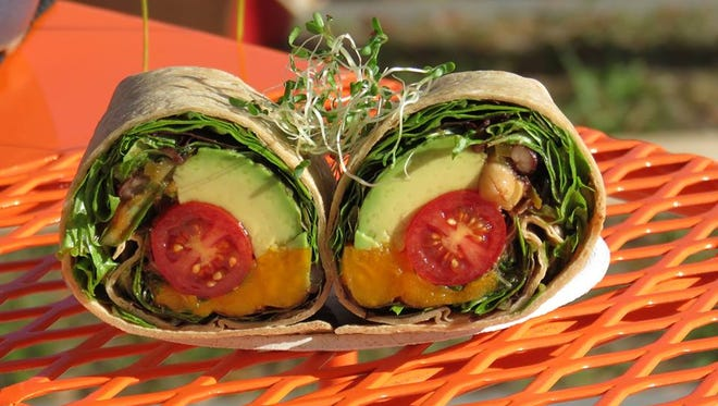 The Avo-Loco from Organically Twisted is JLB's #ASandwichADay pick for Friday, August 28.