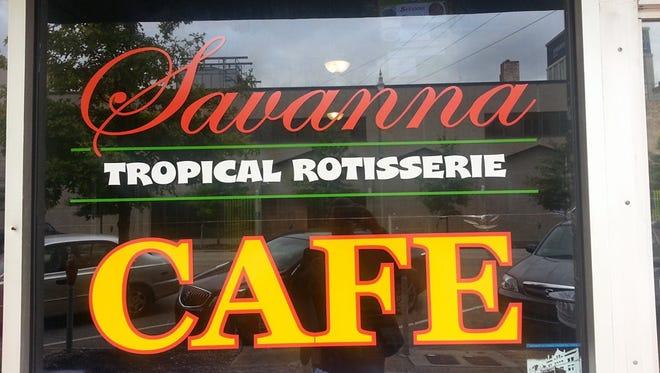Savanna Tropical Rotisserie Cafe opens Tuesday.