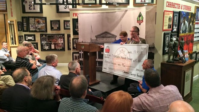Green Diamond Gallery's Character and Courage Foundation presents a $15,000 grant Thursday to the Dunham Miracle League.