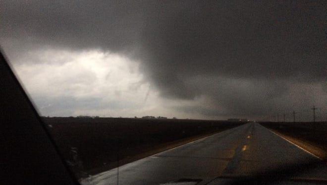 Storm in Cherokee County