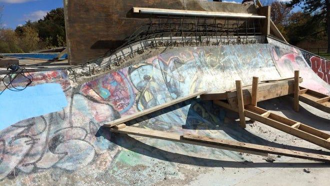 The graffiti is gone at  Major Taylor Velodrome Park on the city's Nortwestside