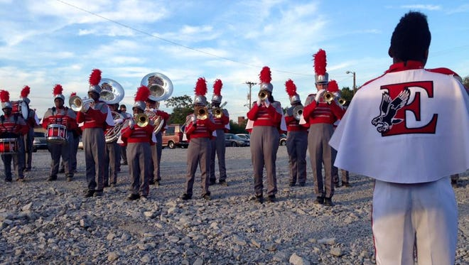 East Nashville Magnet High School's marching band will perform in the Russell Athletic Bowl in Florida.