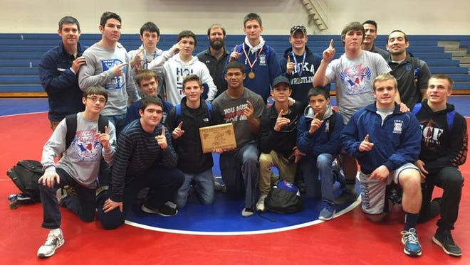 Enka won the Falcon Frenzy wrestling tournament held Friday and Saturday at West Henderson.