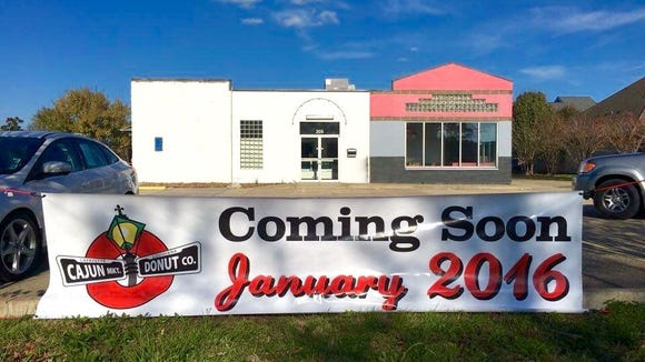 Cajun Market Donut Company is moving into the old Meche's location at 205 Rue Louis XIV.