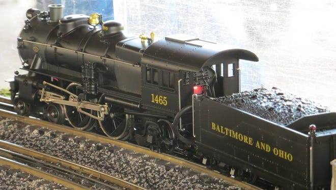 The Trainmasters' 40-by-60-foot layout will be on display and continuously running throughout the event.