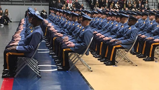 New Jersey State Police graduated 134 recruits in its 156th class.