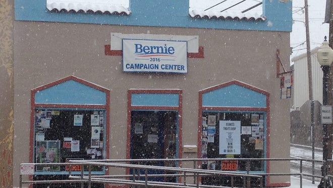 The Bernie Sanders Campaign Center in Silver City will hold an open house from 10 a.m. to 4 p.m. on Saturday.