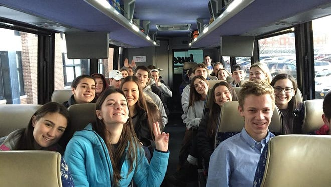 More than 100 students made the trip to New Hampshire.
