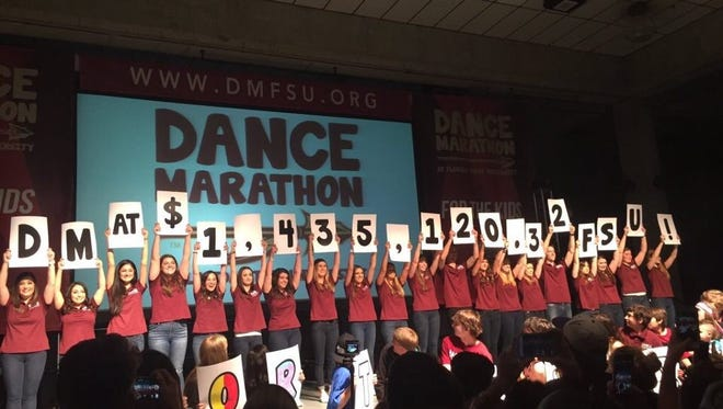 Last year, Dance Marathon was responsible for raising $302,535.34 in little over 26 hours.