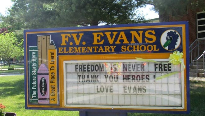 F.V. Evans Elementary School in Marlton may be closed by the 2017-18 school year..