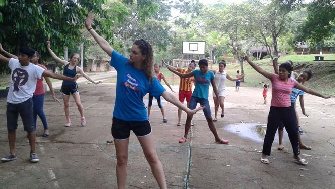 Movement Exchange does service work by teaching dance to underprivileged populations.