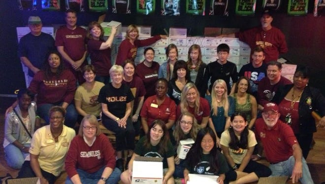 Seminole Service Day has allowed alumni to give back for years, as seen here in this photo from 2013.