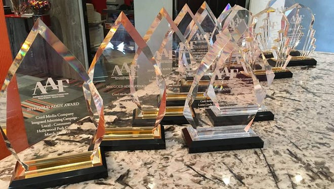 Cord Media Company  earned two dozen ADDY Awards from the American Advertising Federation at its annual awards dinner at the Hard Rock Hotel Palm Springs.