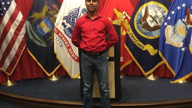 Raheel Siddiqui, 20, of Taylor, died during Marines boot camp training in South Carolina