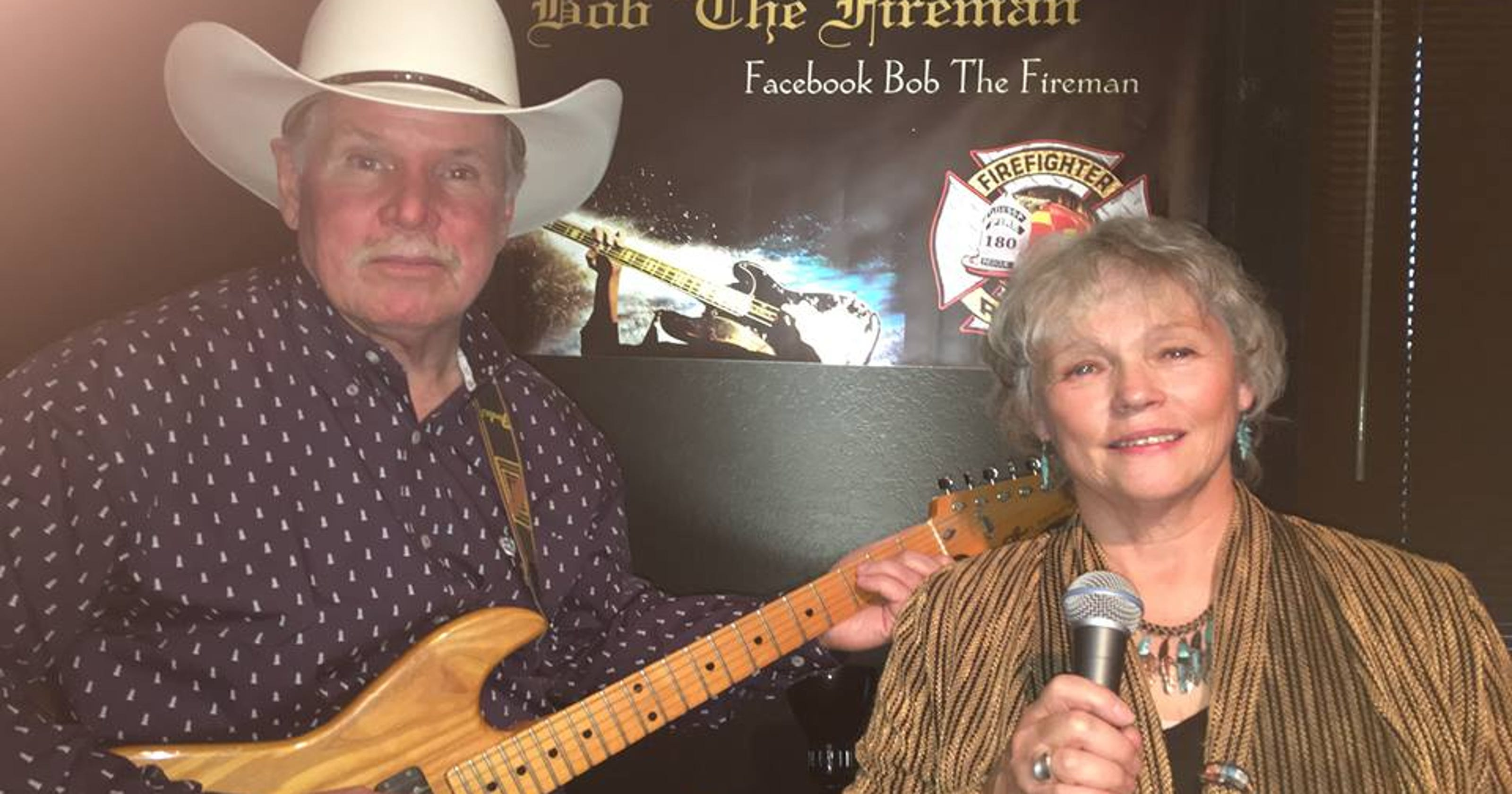 Bob the Fireman fills the boot with music