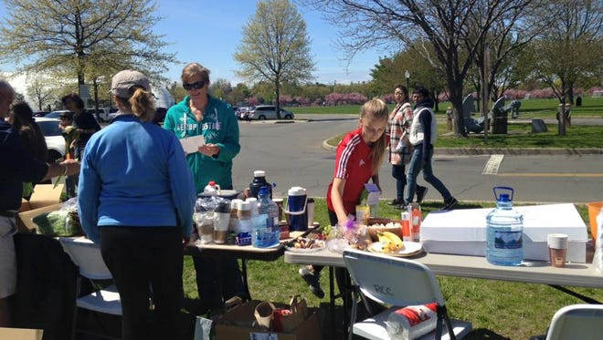 Two tons of trash was cleaned up by volunteers during the eighth annual clean up day in the Village of Mamaroneck.