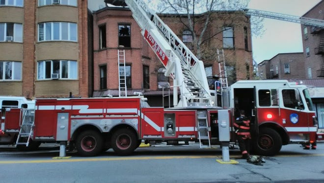 A fire in Yonkers on May 3, 2016 left 24 people homeless according to the Metro-New York Chapter of the Red Cross.