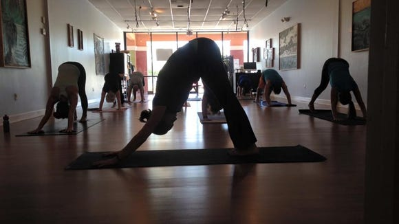 Have you been wanting to try yoga or maybe experiment