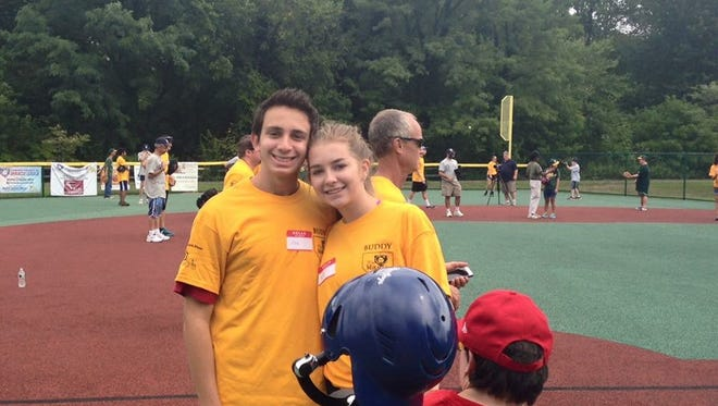 Cherry Hill East students Joe Levin and Holly Seybold created the Cherry Hill East Buddies Club in 2015