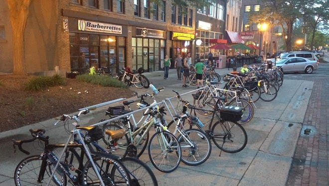 The Tri-County Bike Association heads-up the Greater Lansing Bike Movie Night Friday.