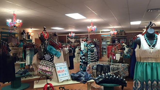 Inside Brittany Cox's new Rustic Diva's location in Farmington.