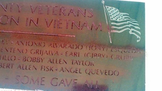 Vietnam Veterans Memorial was vandalized