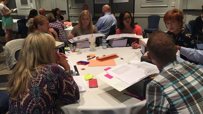 Tennessee educators discuss public comments on the state's social studies standards.
