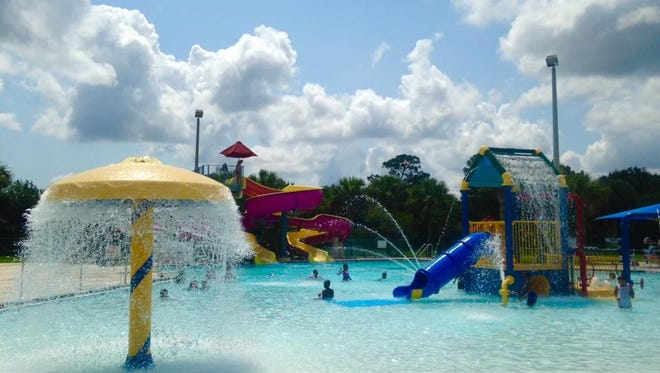 The North County Aquatic Center, in Sebastian, offers water park caliber fun for just a couple of bucks per person.