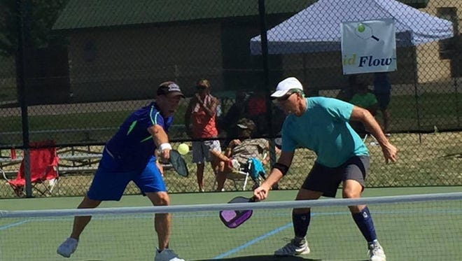 The USA Pickleball Association sanctioned Ruidoso Pickleball Championships, June 10 to 12, at the courts at the White Mountain Sports Complex.  .