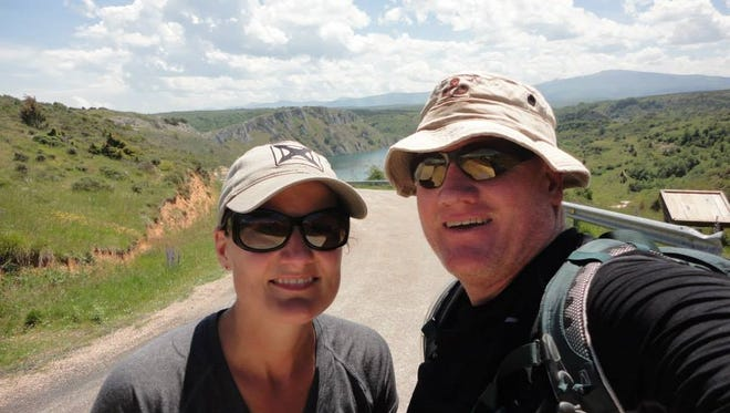 Ruidoso Police Chief Darren Hooker and wife Cecily made the Camino de Santiago pilgrimage two years ago.