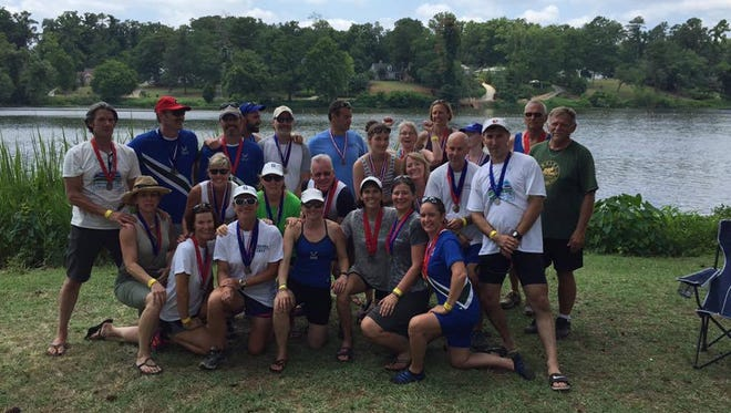 The Asheville Rowinig Club took part in last week's Southeast Rowing Championships in Augusta, Ga.