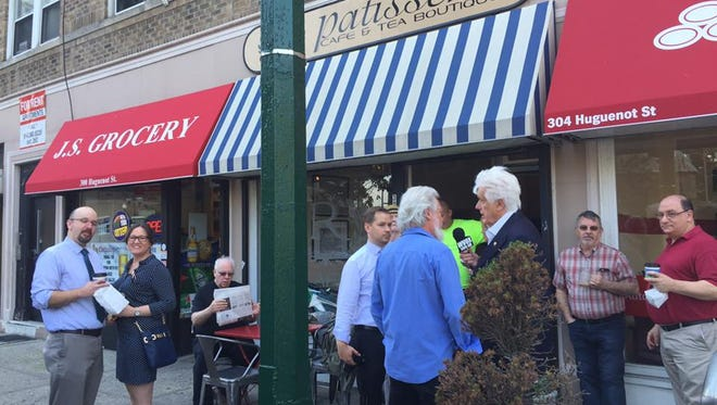 The last Journal News/lohud coffee chat was held at R Patisserie, Cafe and Tea Boutique in New Rochelle.