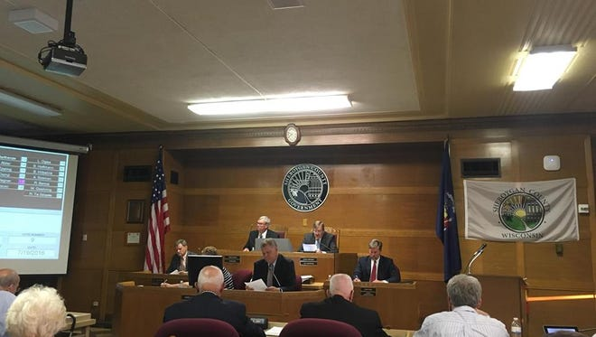 The Sheboygan County Board of Supervisors approved a .5 percent sales tax July 19, 2016.