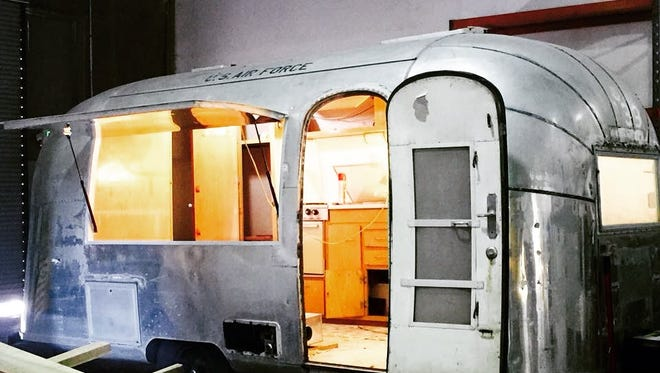 Ellie's Doughnuts is transforming a vintage Airstream into a mobile bakery.