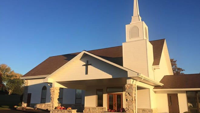 St. Peter's Evangelical Lutheran Church, Eldorado.