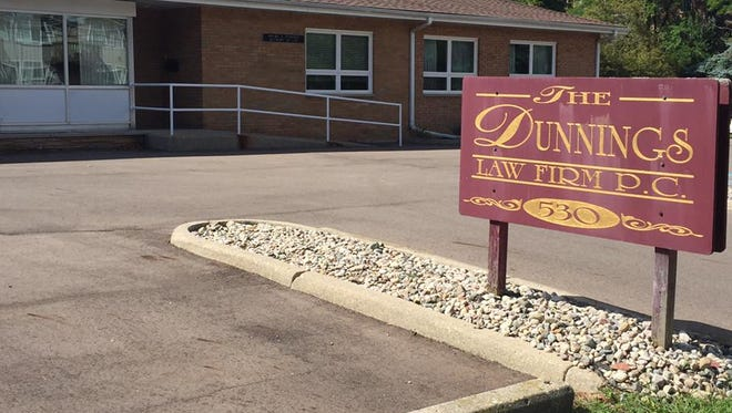 Steven Dunnings, of Lansing's Dunnings Law Firm, is currently the Lansing Housing Commission's landlord-tenant attorney. The commission's board members are expected to decide this month if he will continue to represent the publicly-funded agency in court cases.