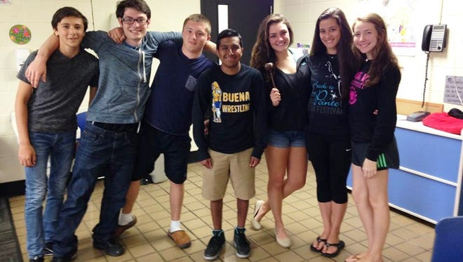 Tri-County Community Interact Club will hold the first meeting of the new school year at 7 p.m. Sept. 29 at the YMCA of Vineland, 1159 E. Landis Ave. New members are always welcome. Members are pictured at a meeting last year.