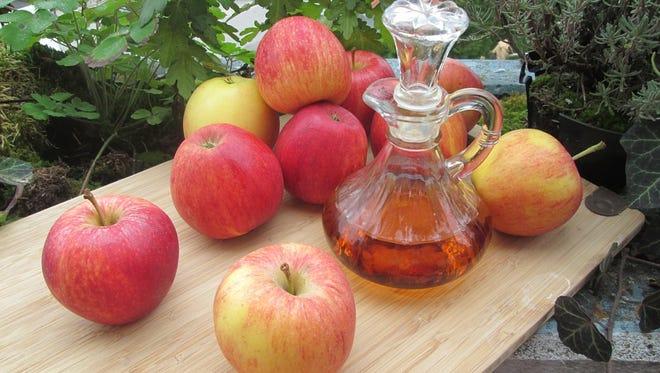 Apple cider vinegar: Not just for salads anymore.