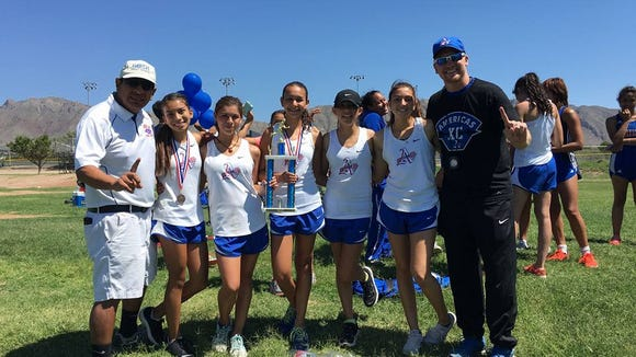 The Americas Trialblazers, which came into the season ranked, are now the third ranked team in the city. The Americas won the Kendle Kidd Meet at Coronado.