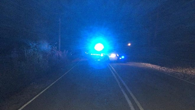 Stayton Road in north Dickson County is blocked off after a fatal wreck on Sunday night.