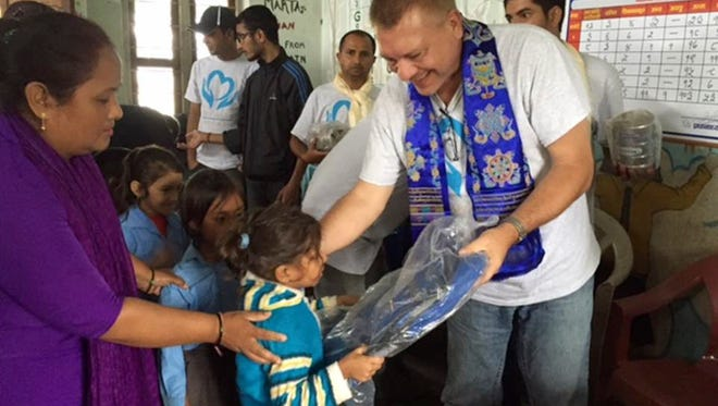 Terry Mikeska has provided food, clothing and more on two mission trips to Nepal since a huge April 2015 earthquake devastated the nation.