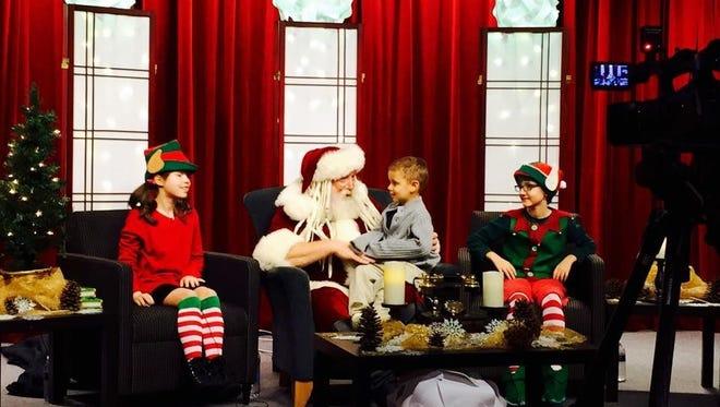 Call in or visit the CCTV Studio to talk to Santa 4 to 6  p.m. Saturday, Dec. 17.