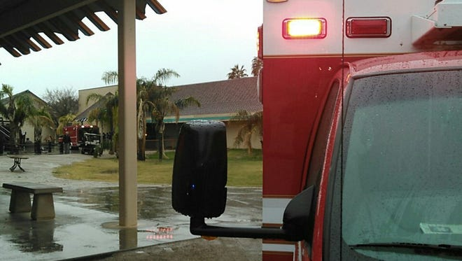 An electrical fire was reported in the otter building at Wildlife World Zoo near Litchfield Park on Dec. 22, 2016. No one was injured.