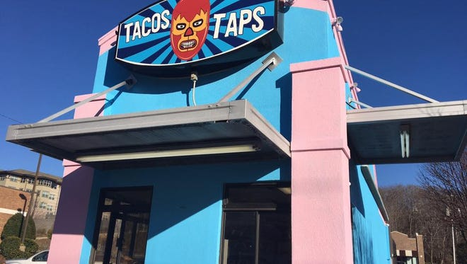 Tacos and Taps will open soon on Merrimon Avenue.
