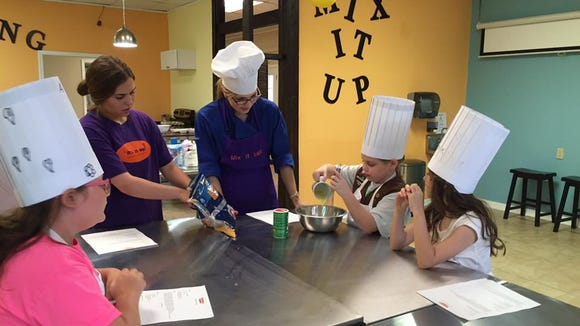 Mix It Up specializes in children's cooking classes. The Houma-based business will soon have a location in Lafayette.