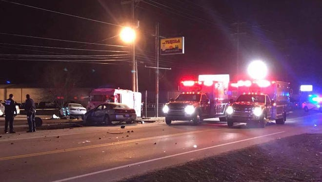 Nine people were struck, two fatally, by an alleged drunk driver on Sunday outside La Movida Night Club in Fairdale.